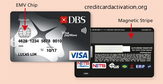 dbs card activation