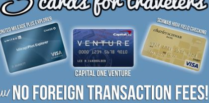 Credit Cards with No Foreign Transaction