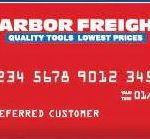 Harbor Freight Credit Card Login, Payment, Application