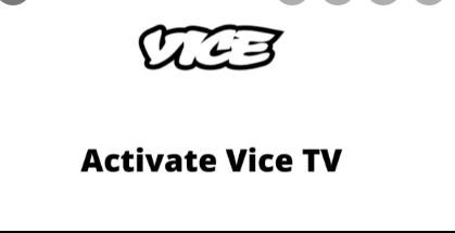 Activate ViceTV on the vicetv.com